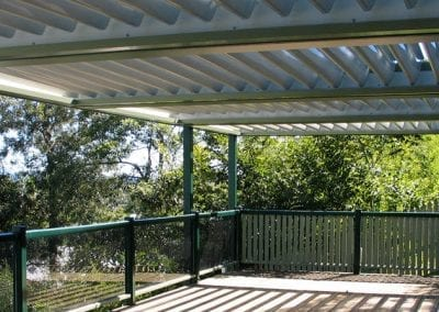 Shade Your Deck with a Vergola Opening Roof