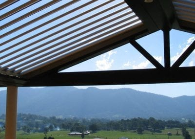 Vergola Roofs can be Fitted on Angles