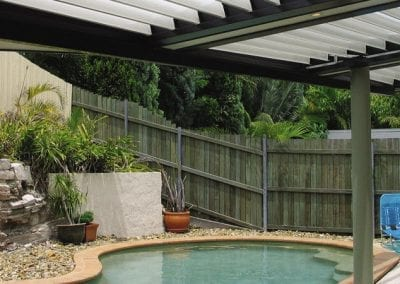 Vergola is Perfect for Shading Pool Areas